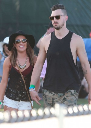 Lea Michele: Coachella Music Festival Day 2 -15