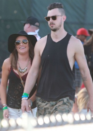 Lea Michele: Coachella Music Festival Day 2 -17