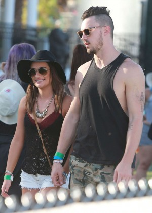Lea Michele: Coachella Music Festival Day 2 -19