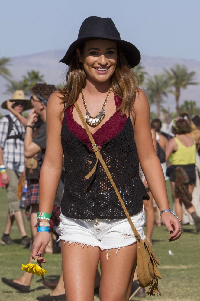 Lea Michele - Coachella Valley Music and Arts Festival Day 2 in Indio