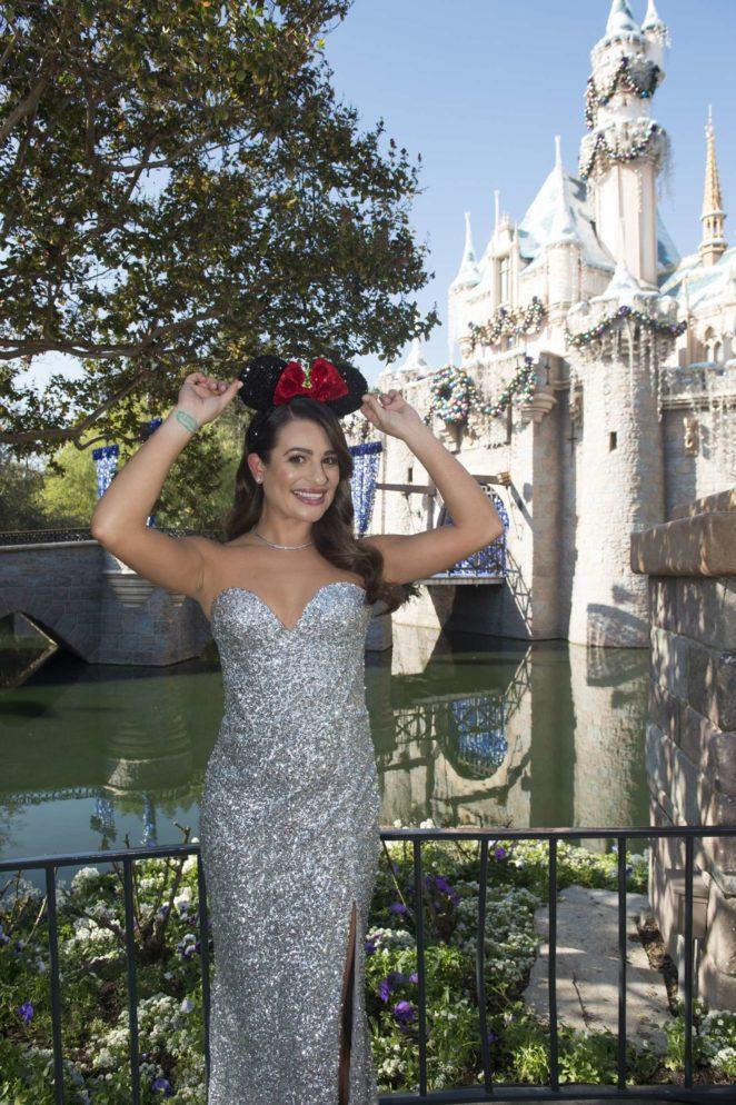 Lea Michele - Disney Parks Magical Christmas Celebration 2017