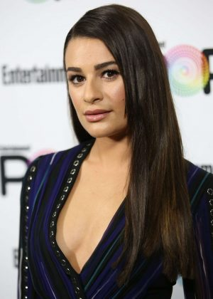 Lea Michele - Entertainment Weekly PopFest in Los Angeles
