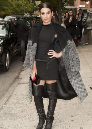Lea Michele - Entertainment Weekly's 'EW Fest' in NYC