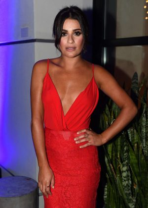 Lea Michele - Fox Comic-Com Friday Night Bash in San Diego