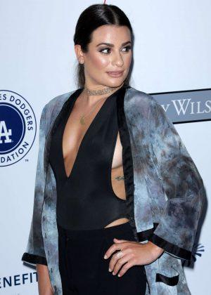 Lea Michele - LA Dodgers Foundation Blue Diamond Gala in Los Angeles
