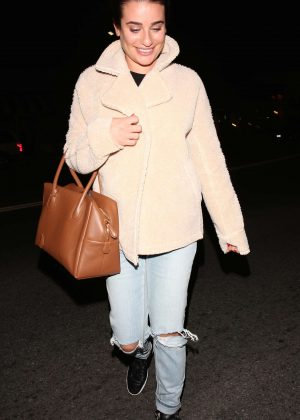 Lea Michele - Night Out in West Hollywood