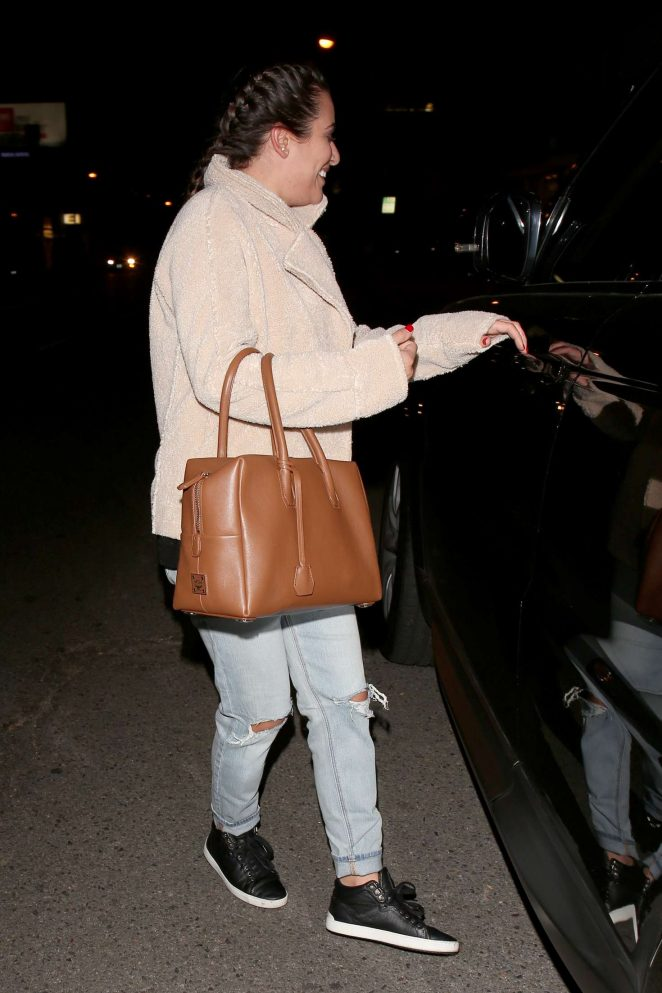 Lea Michele: Night Out in West Hollywood -08