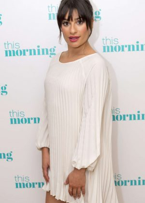 Lea Michele on 'Lorraine' TV show in London