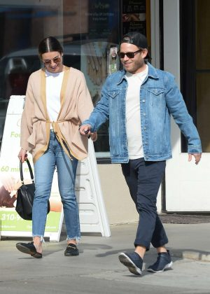 Lea Michele - Out in Los Angeles