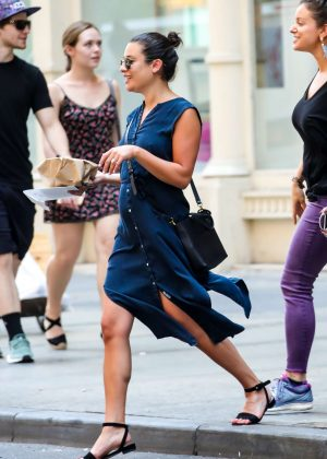 Lea Michele - Out in New York City