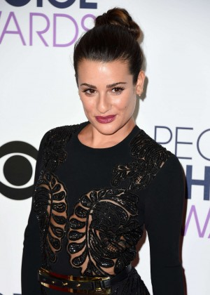 Lea Michele - People's Choice Awards 2016 in Los Angeles