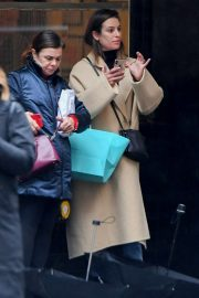Lea Michele - Pictured in New York City with a friend