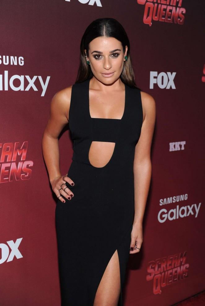 Lea Michele - 'Scream Queens' Premiere in LA