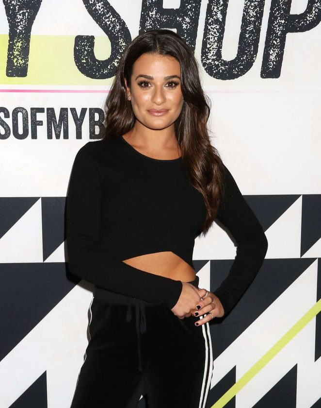 Lea Michele - Shape Magazine Ultimate Fitness Event in New York