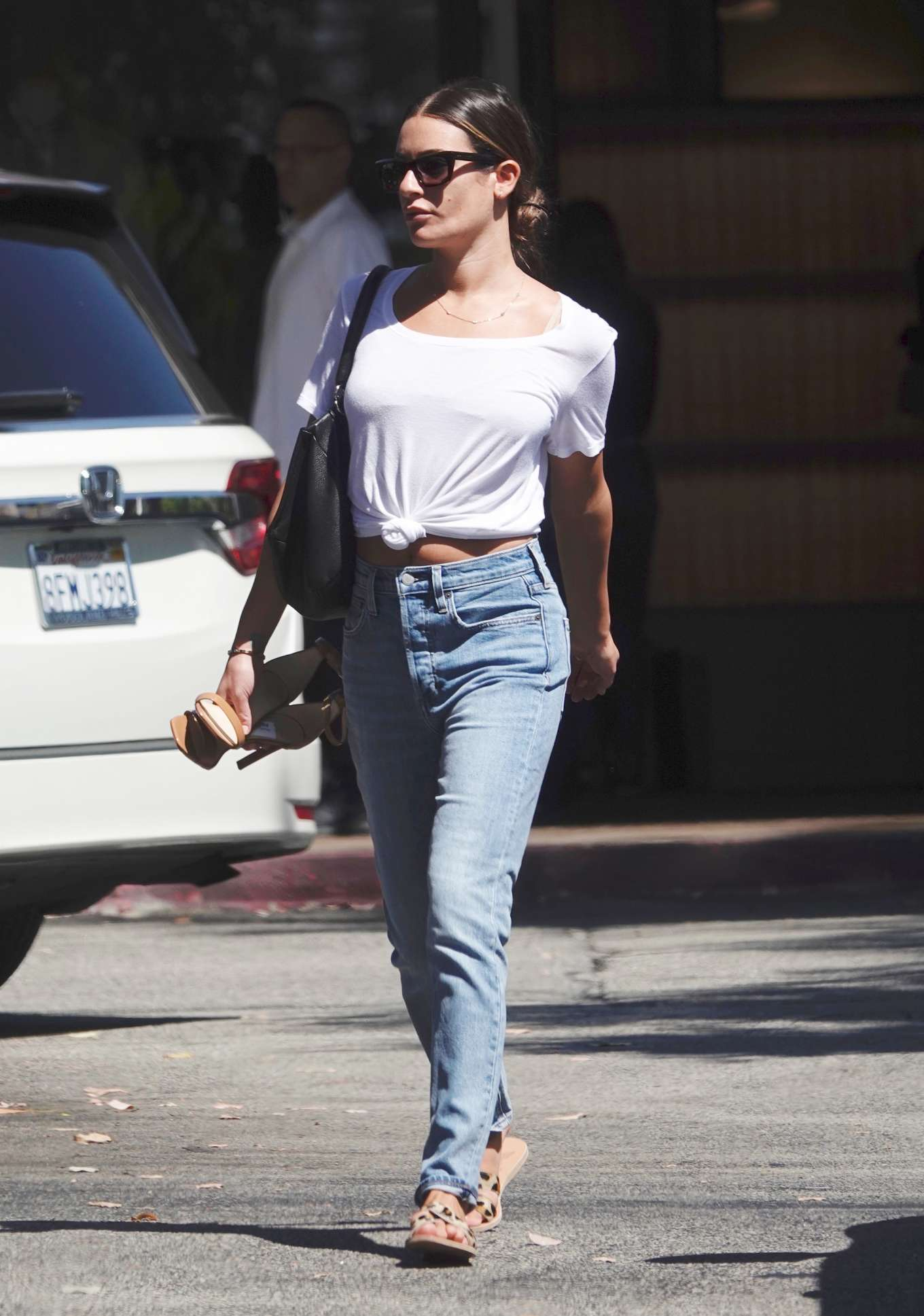 Lea Michele - Shopping at 'Switch Boutique' in Bel-Air