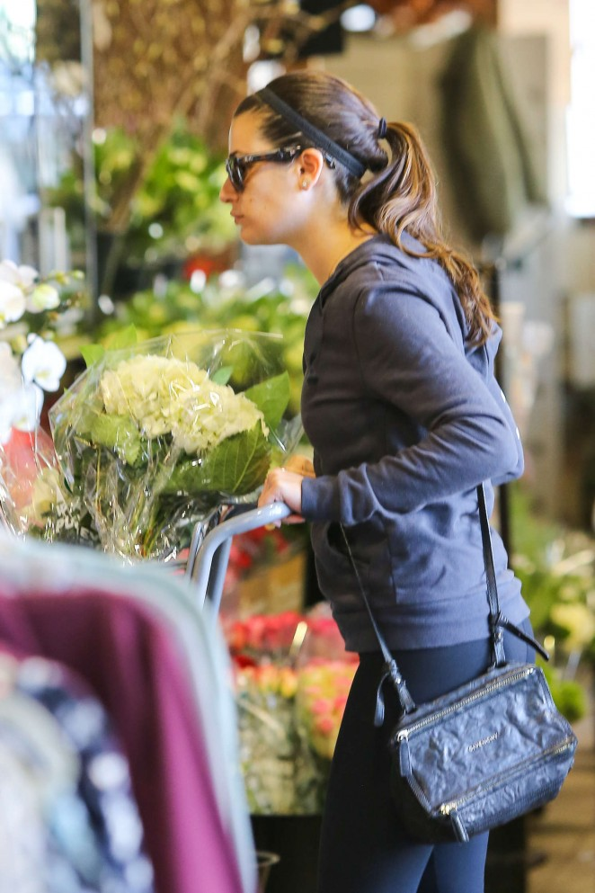 Lea Michele - Shopping in Brentwood