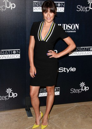 Lea Michele - Step Up Women's Network 2015 Inspiration Awards in Beverly Hills