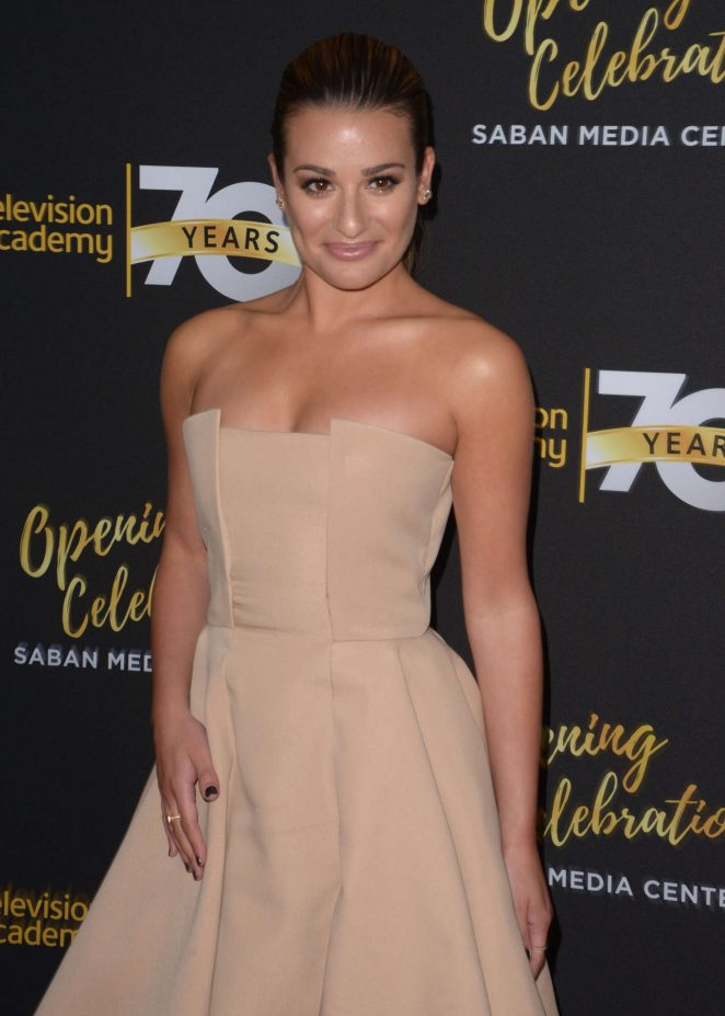 Lea Michele - Television Academy's 70th Anniversary Gala in Los Angeles