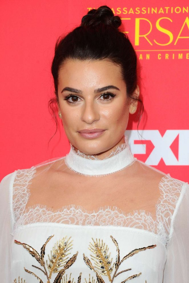 Lea Michele - 'The Assassination Of Gianni Versace:American Crime Story' Premiere in Hollywood
