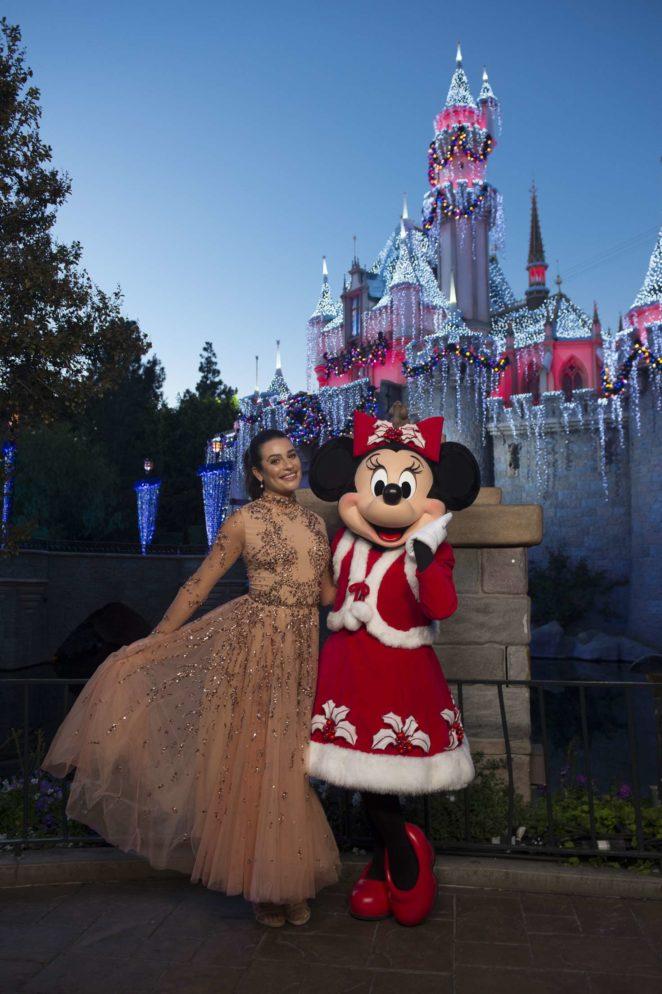 Lea Michele - The Wonderful World Of Disney: Magical Holiday Celebration 2017