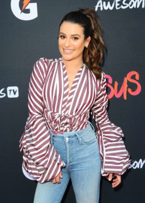 Lea Michele - 'Versus' Premiere Event in Santa Monica