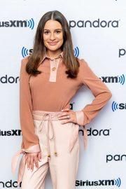 Lea Michele - Visits SiriusXM Studios in New York City