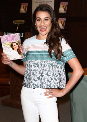 Lea Michele - 'You First' Book Signing Held in LA