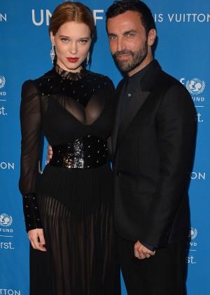 Lea Seydoux: 6th Biennial UNICEF Ball -01