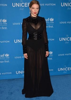 Lea Seydoux: 6th Biennial UNICEF Ball -02
