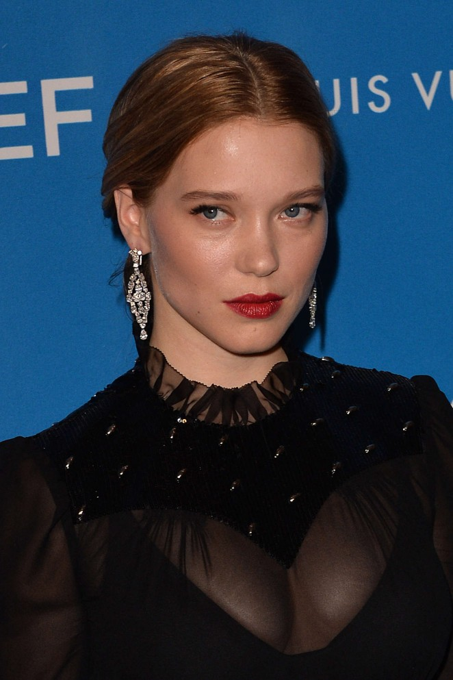 Lea Seydoux - 6th Biennial UNICEF Ball in Beverly Hills