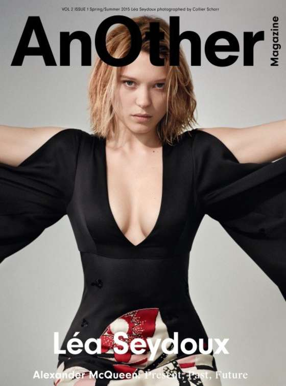 Lea Seydoux - AnOther US Cover (February 2015)