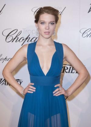 Lea Seydoux - Chopard Trophy Party in Cannes