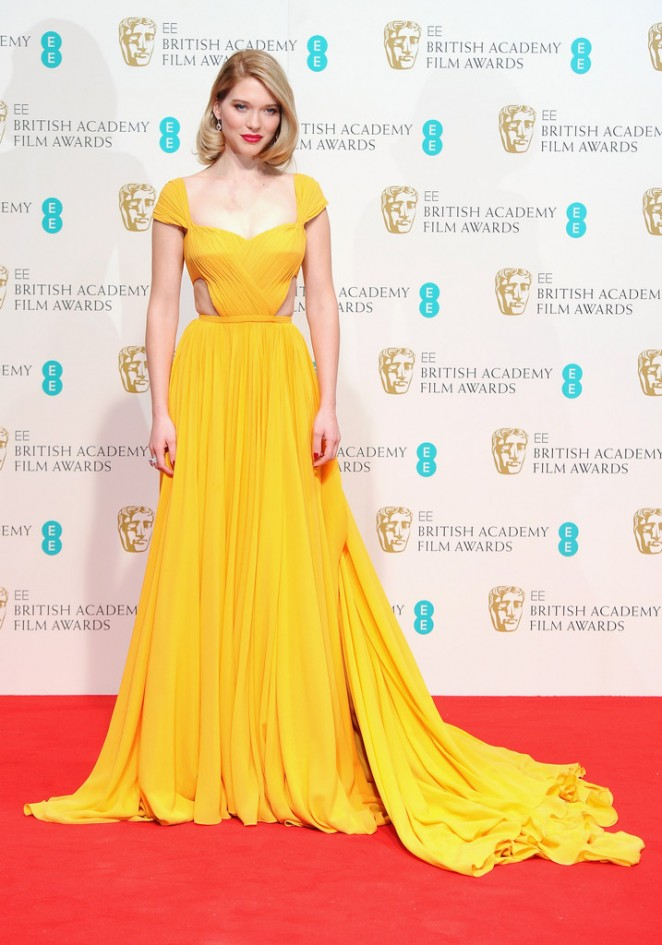 Lea Seydoux - 2015 BAFTA Awards in London