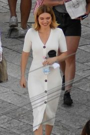 Lea Seydoux - Filming new James Bond 007 film 'No Time To Die' in Italy