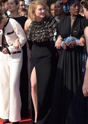Lea Seydoux - 'Girls Of The Sun' Premiere at 2018 Cannes Film Festival