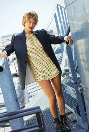 Lea Seydoux - Grazia Magazine Italia - October 2020