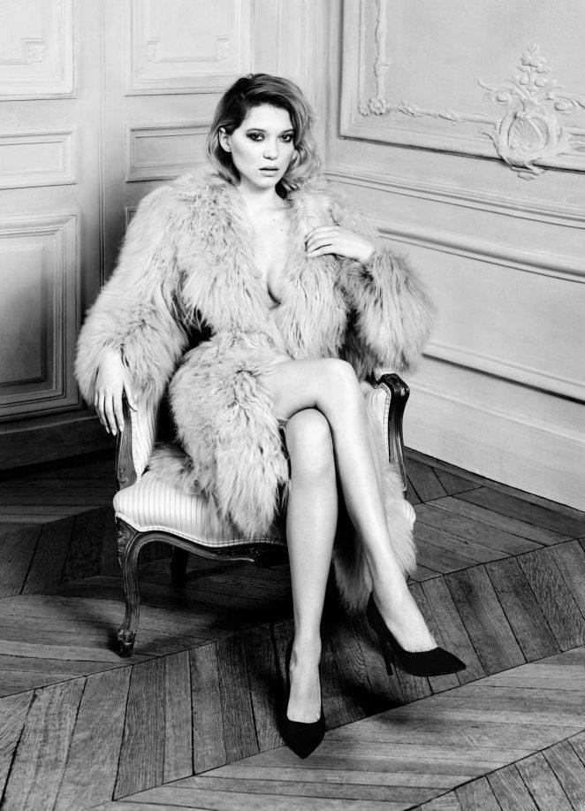 Lea Seydoux – Harper's Bazaar US Magazine (September 2016)