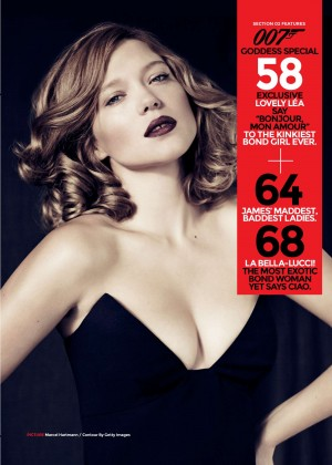 Lea Seydoux - Loaded Magazine (March 2015)
