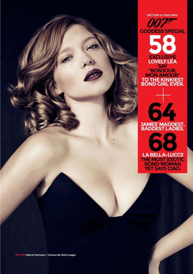 Lea Seydoux – Loaded Magazine (March 2015)