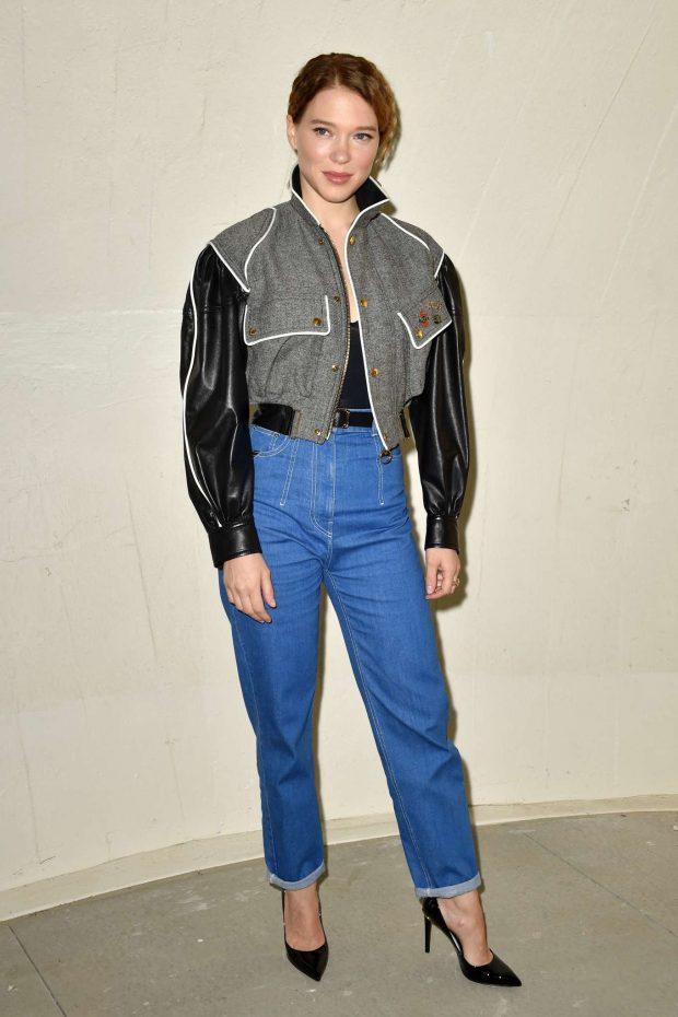 Lea Seydoux: Louis Vuitton Cruise 2020 Fashion Show at JFK Airport -02