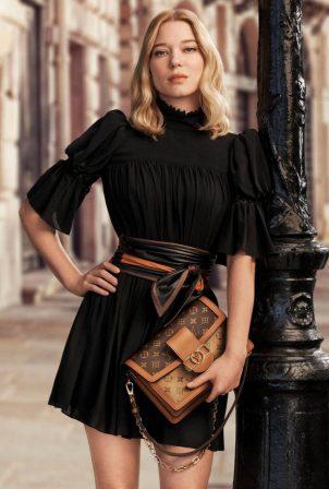 Lea Seydoux - Louis Vuitton Pre-Fall 2020
