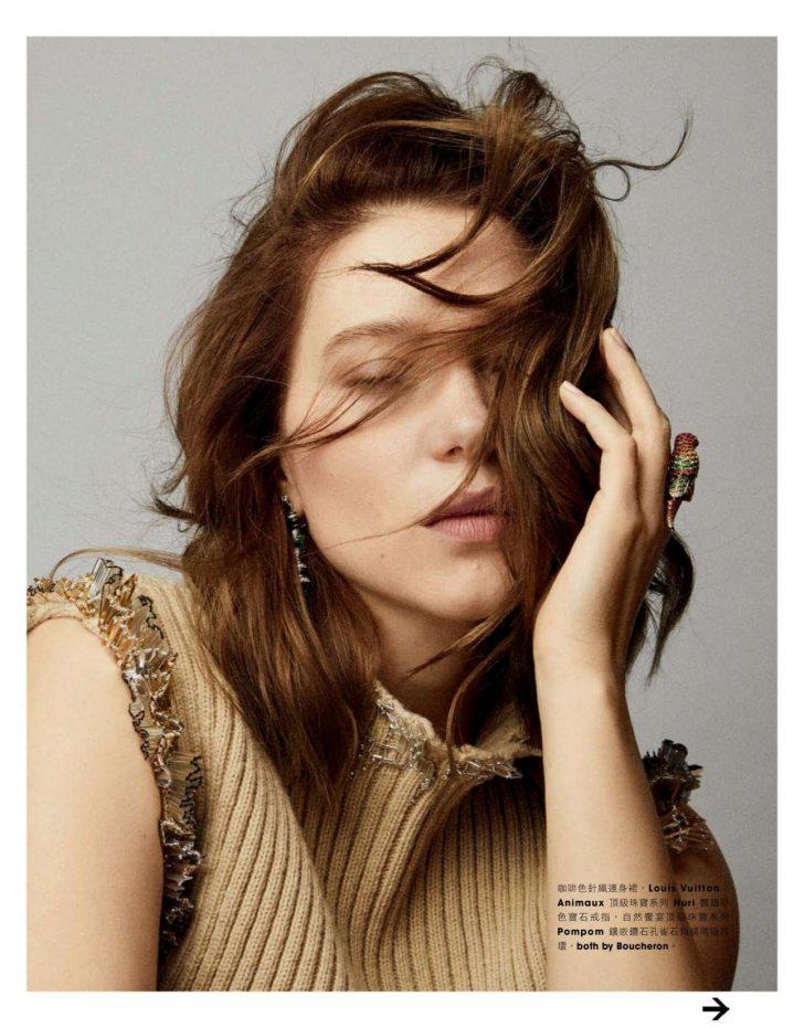 Lea Seydoux - Marie Claire Magazine (Taiwan March 2019)