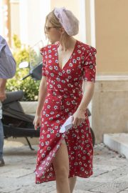 Lea Seydoux - On the set of a James Bond 'No Time to Die' in Matera