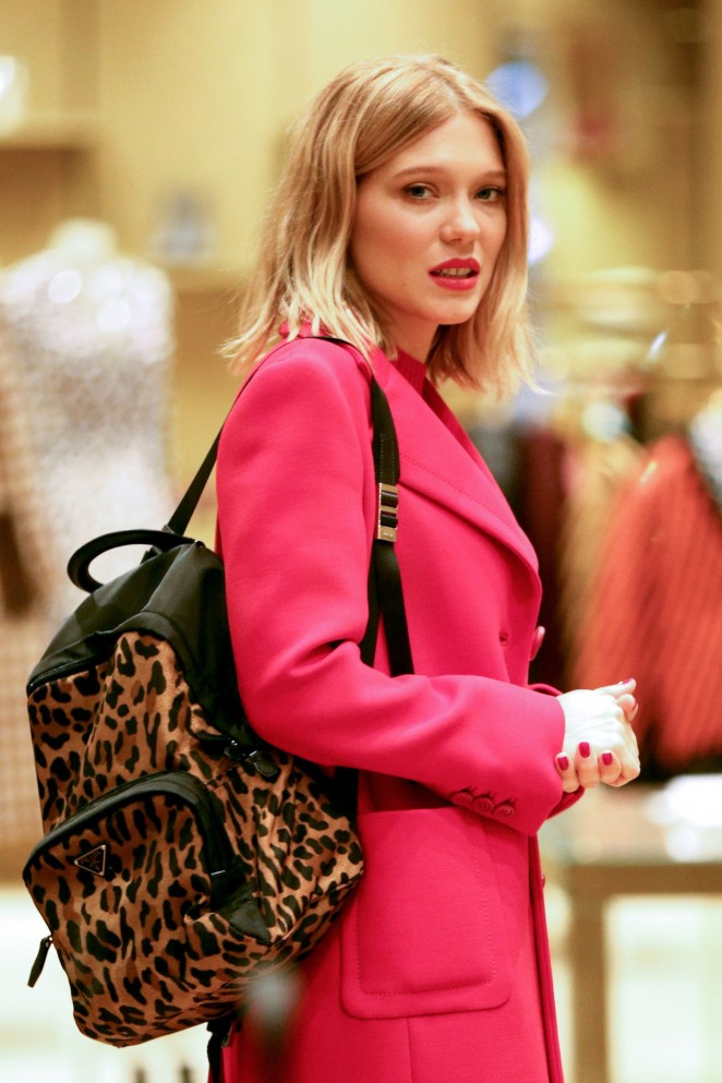 Lea Seydoux - Shopping in New York City