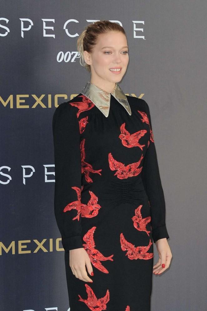 Lea Seydoux - 'Spectre' Photocall in Mexico