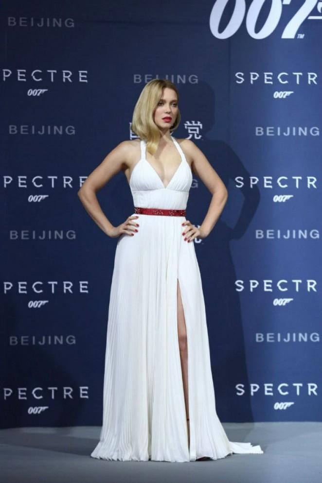Lea Seydoux - 'Spectre' Premiere in Beijing