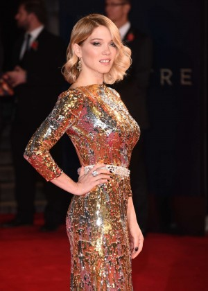 Lea Seydoux - 'Spectre' Premiere in London