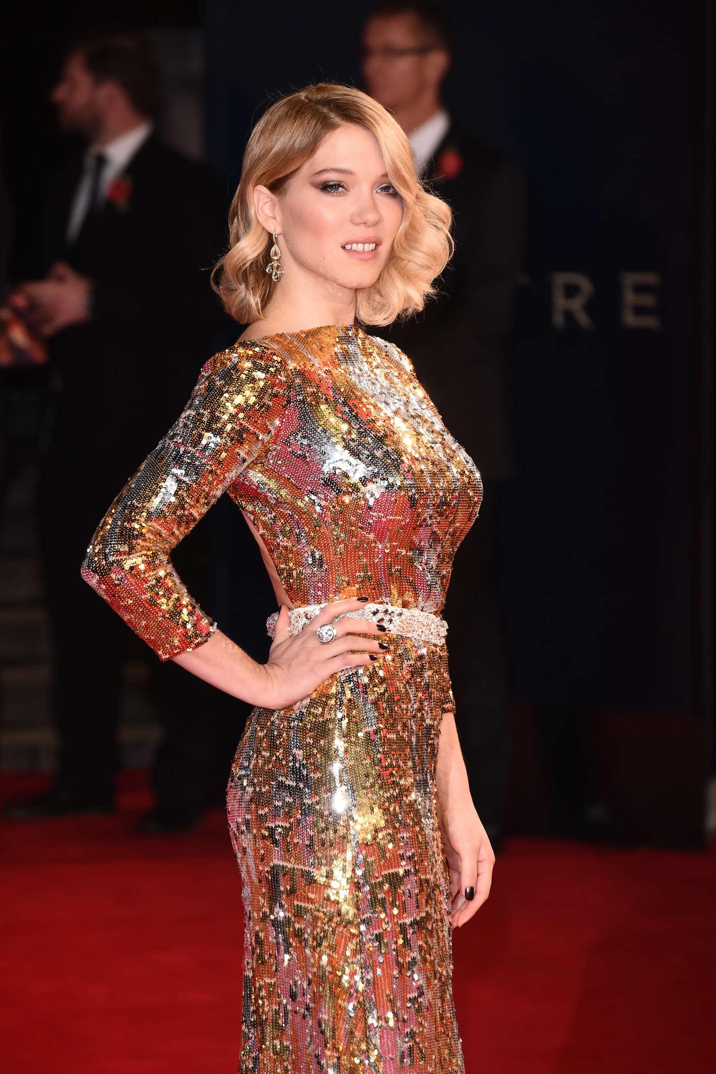 Lea Seydoux - 'Spectre' Premiere in London