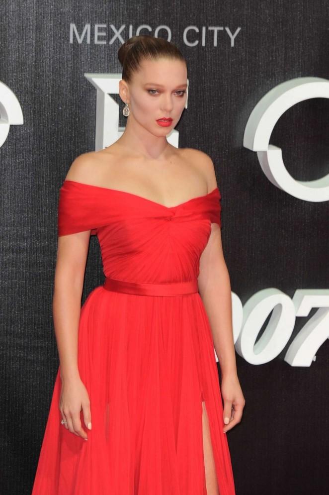 Lea Seydoux – 'Spectre' Premiere in Mexico City