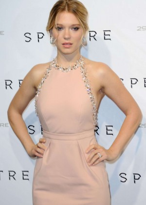 Lea Seydoux - 'Spectre' Premiere in Paris